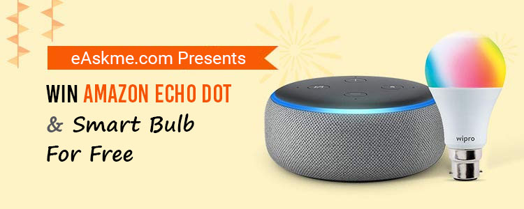 Win Amazon Echo dot