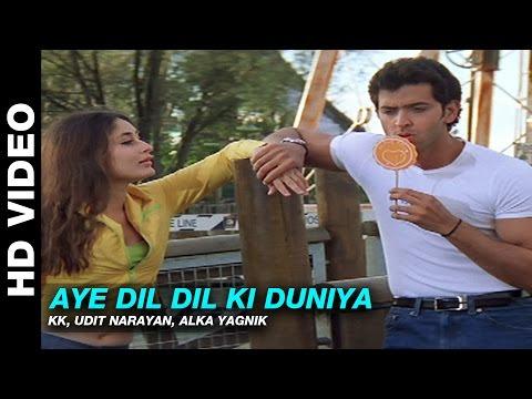 Aye Dil Dil Ki Duniya video Song Download Yaadein 2001 Hindi