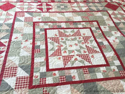 'Devon County' quilt made by Karen