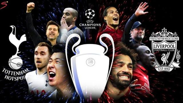 ترددات القنوات المجانية الناقلة لمباراة ليفربول وتوتنهام علي النايل سات نهائي دوري أبطال اوروبا 2019
