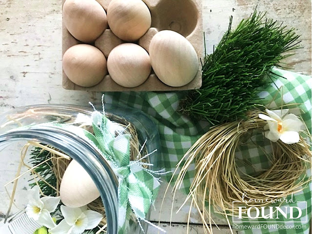 boho style, color, crafting, decorating, DIY, diy decorating, Easter, farmhouse style, garden, nests, neutrals, original designs, re-purposing, rustic style, salvaged, seasonal, spring, up-cycling, thrifted, vintage, handmade, spring vignettes