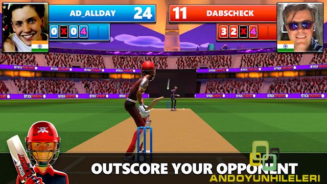 Stick Cricket Live Hileli APK
