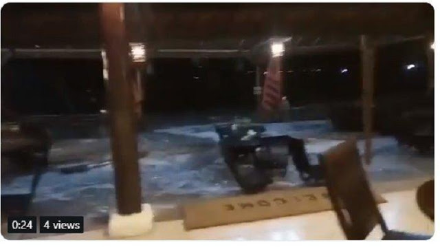 Video Detik-Detik Tsunami yang Landa Banten dan Lampung
