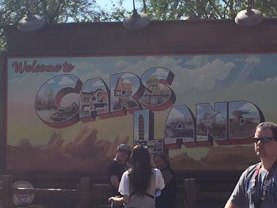Parc Disney California Adventure à Anaheim Cars Land
