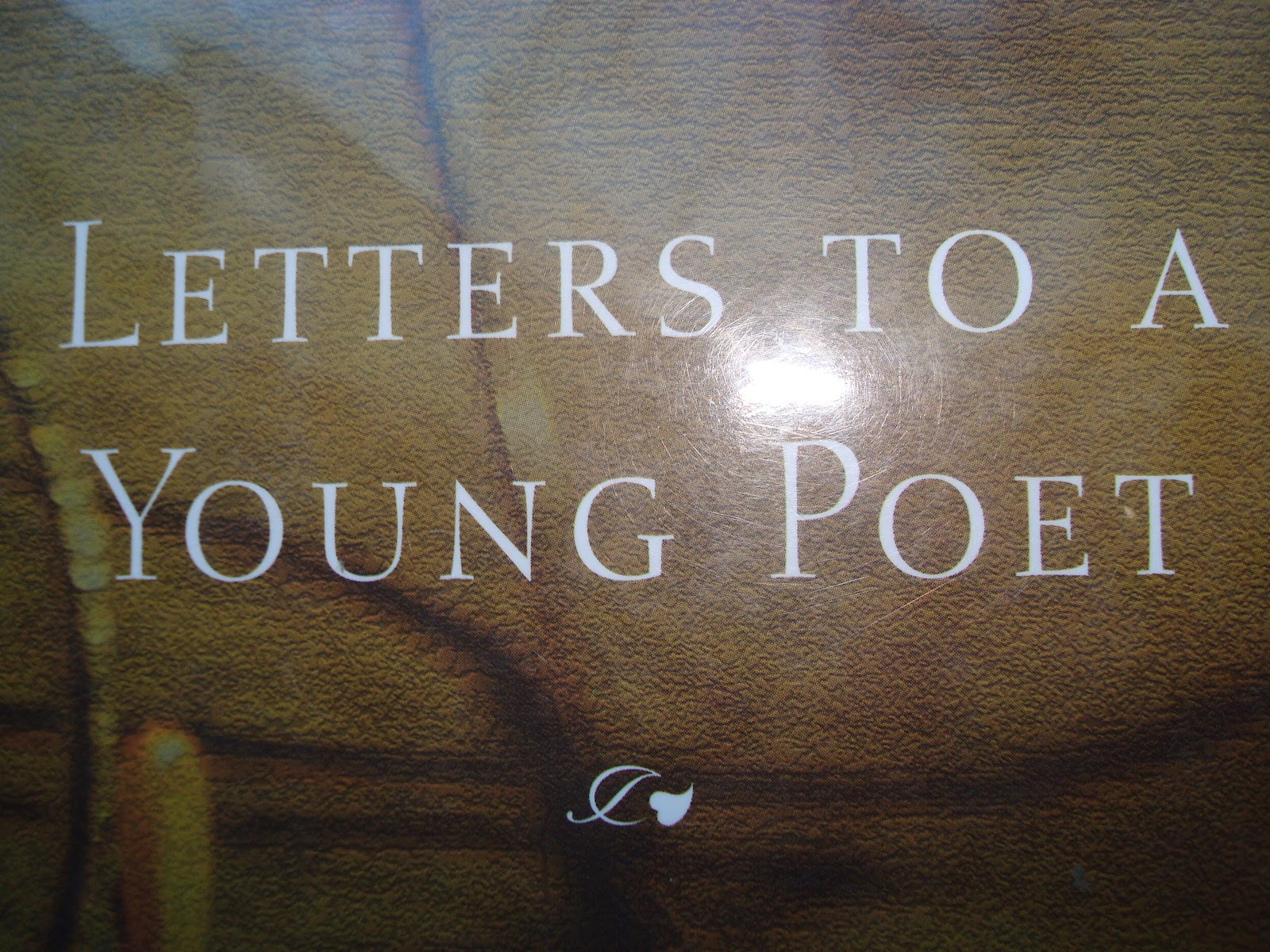letters to a young poet and peas quot letters to a poet quot book review 13760 | DSC03408