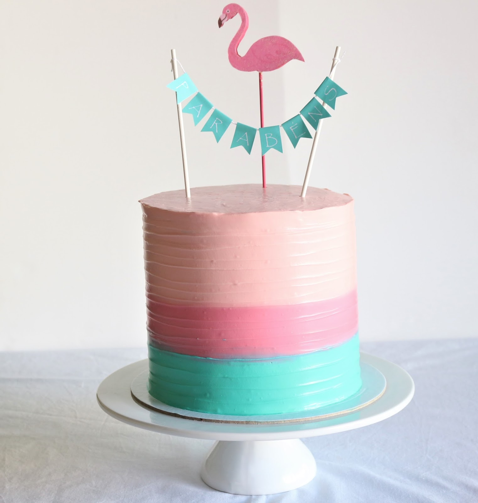 Blog Sweet Lime Bolo Dos Flamingos