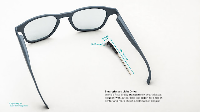 Mais do que os olhos captam: Bosch torna possível a próxima geração de smartglasses