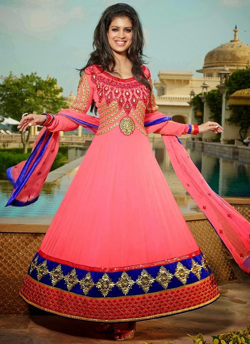 Best Wedding Anarkali Long Dresses Of Beautiful Dress 2013