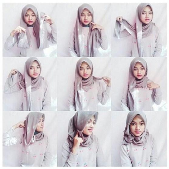 Video Tutorial Hijab Modern Ala Dian Pelangi Model Baru