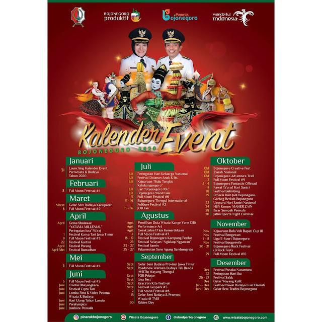 kalender event bojonegoro 2020