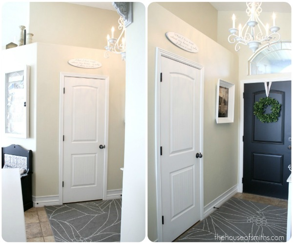 Project Entryway Closet Makeover Part 1