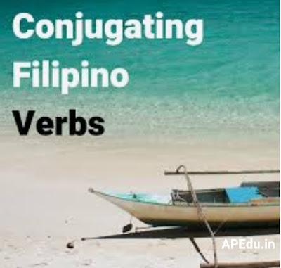 Spoken English Conjugation of a Verb