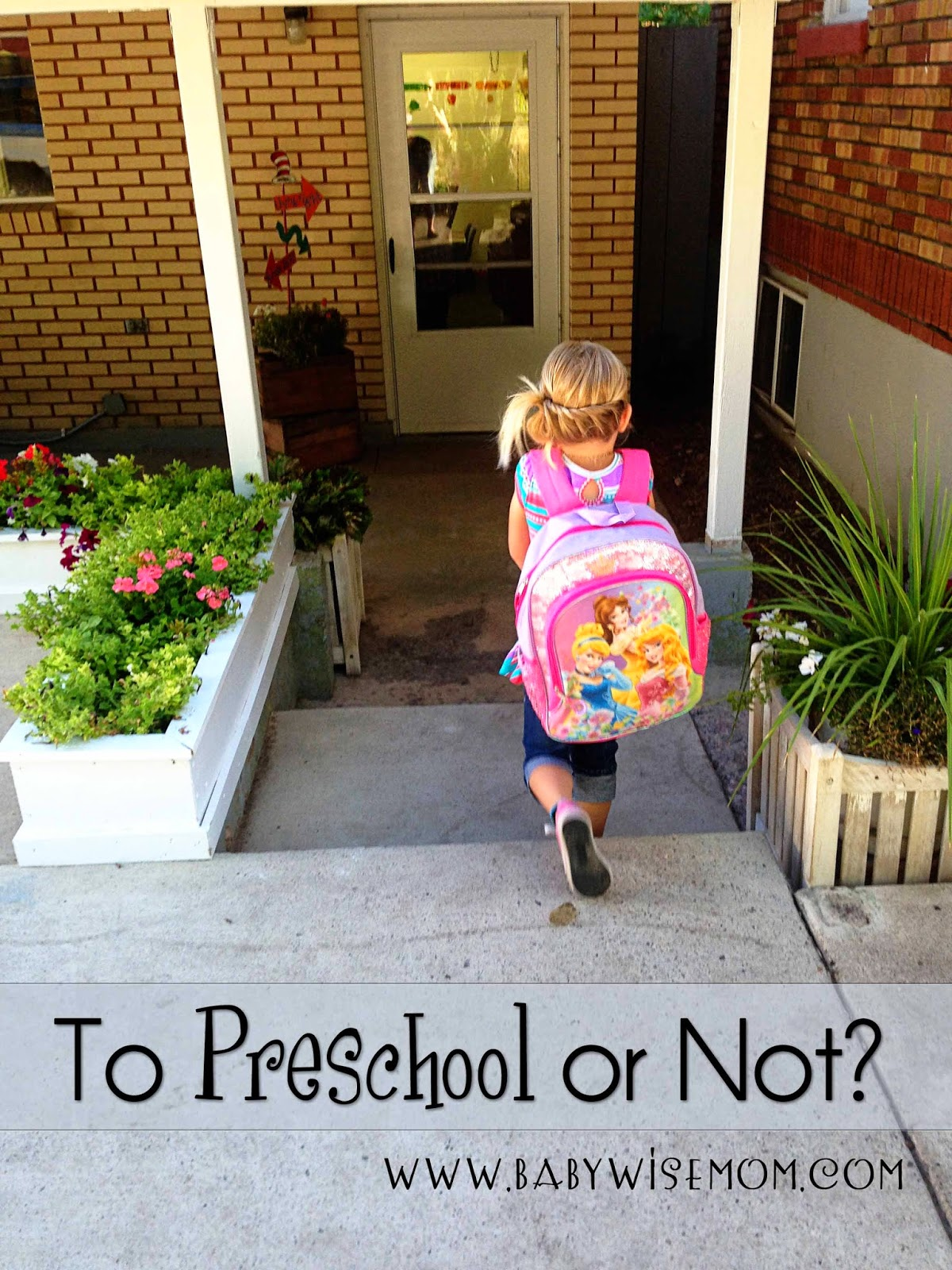 To Preschool Or Not?