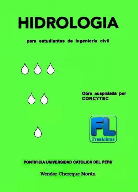 Hidrología para estudiantes de ingeniería civil – Wendor Chereque Morán