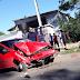Taxista consegue escapar de assalto batendo em ambulância dos bombeiros na BR-470