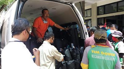 Pengabdian Kepada Masyarakat : Bantuan Sosialisasi Pencegahan Virus Corona di Kelurahan  Sarijadi