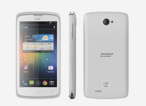 Spesifikasi dan Harga Handphone Acer Liquid C1 Putih