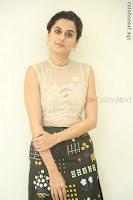 Taapsee Pannu in transparent top at Anando hma theatrical trailer launch ~  Exclusive 088.JPG