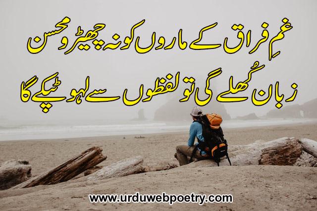 Mohsin Naqvi Poetry In Urdu