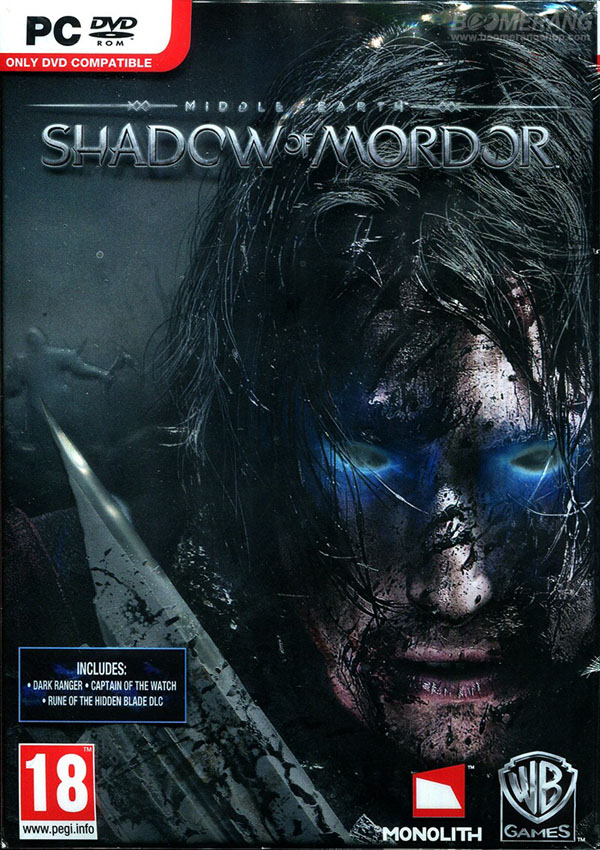 Middle Earth Shadow of Mordor Download Cover Free Game