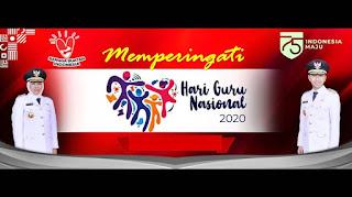 desain spanduk banner hari guru nasional