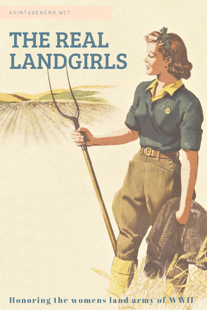 The real Landgirls womens land army ww2