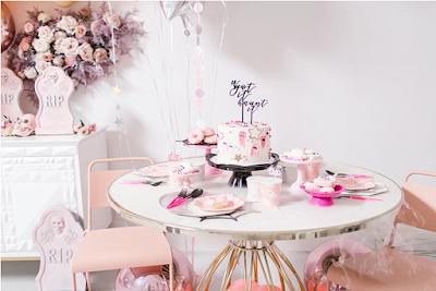 blush pink Halloween