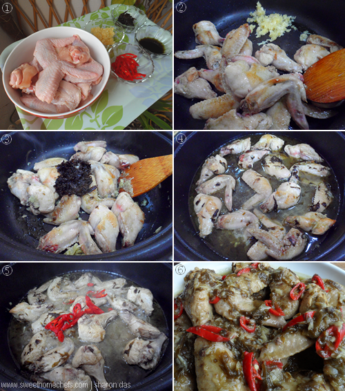 Sweet Home-Chefs: Braised Chicken With Olive Vegetable