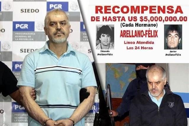 Sueltan a Eduardo Arellano Félix uno de los líderes del Cártel de LOs Arellano Félix tras 13 años de prisión