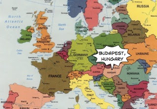 The Other Side of the World: Where is Budapest?