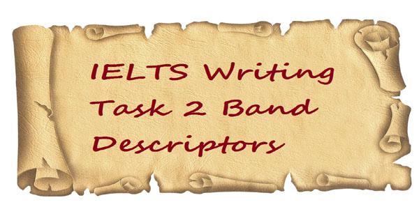 IELTS Writing Task 2 Band Descriptors - Prof IELTS