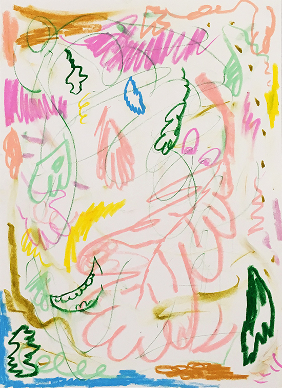 drawing Daniel Jensen untitled, 2017