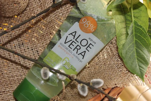 Отзыв: Многофункциональный увлажняющий гель Aloe Vera 98% - WELCOS Moisture Real Soothing Gel.