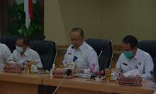 Sekda Ketapang Alexander Wilyo Laksanakan Rapat Evaluasi