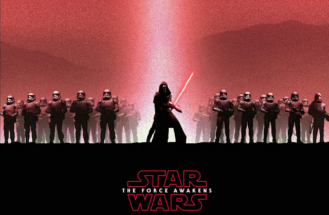 Star Wars Dark Force Awakens Wallpaper