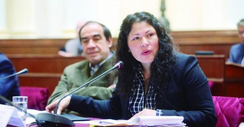 Testigo niega haber sido profesor de la Congresista fujimorista Yesenia Ponce, acusada de mentir en su hoja de vida