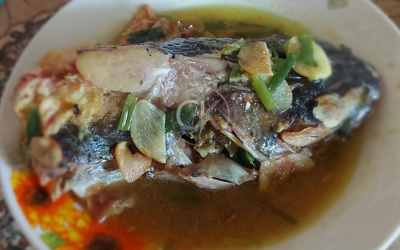 Garang Asem Kepala Ikan Manyung Khas Tuban