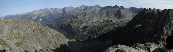 Panorama ze Skrajnego Granata.