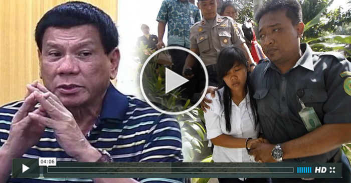 WATCH: Duterte Has A Heart-breaking Message to Mary Jane Veloso ;-(