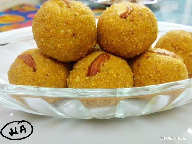 Recipe of Very soft Besan ke laddoo