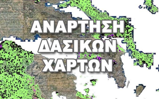Αργολίδα: Ανάρτηση δασικών χαρτών