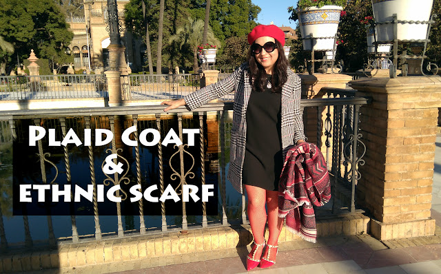 Plaid-Coat_ethnic-scarf