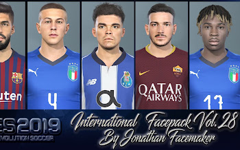 International Facepack   Vol 28   PES2019   PC
