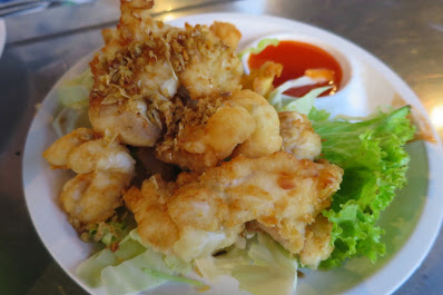 Bangkok, T&K Seafood, fried squid roe