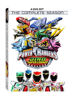 Popcorn & Coffee: Saban's Power Rangers Dino Super Charge: The Complete Season