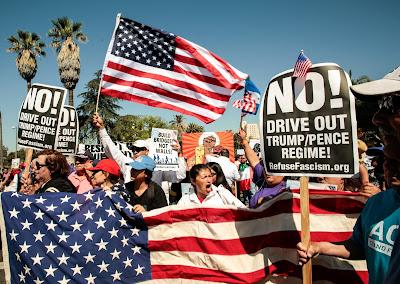 Donald Trump, USA, tüntetés,