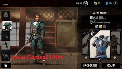 Screenshot Shadow Fight 3 Mod Apk + Data Obb
