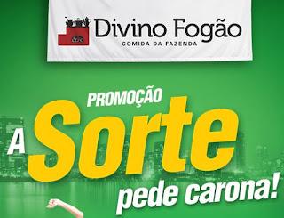 Cadastrar Promoção Divino Fogão 2017 A Sorte Pede Carona