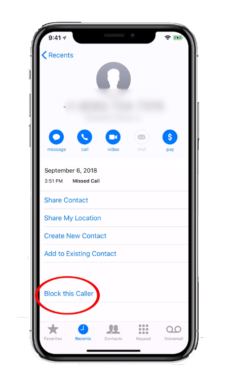 Gadgets Land: How To Block a Phone Number On iPhone or iPad