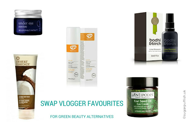 Swap YouTuber Favourites for Green Beauty Alternatives #2